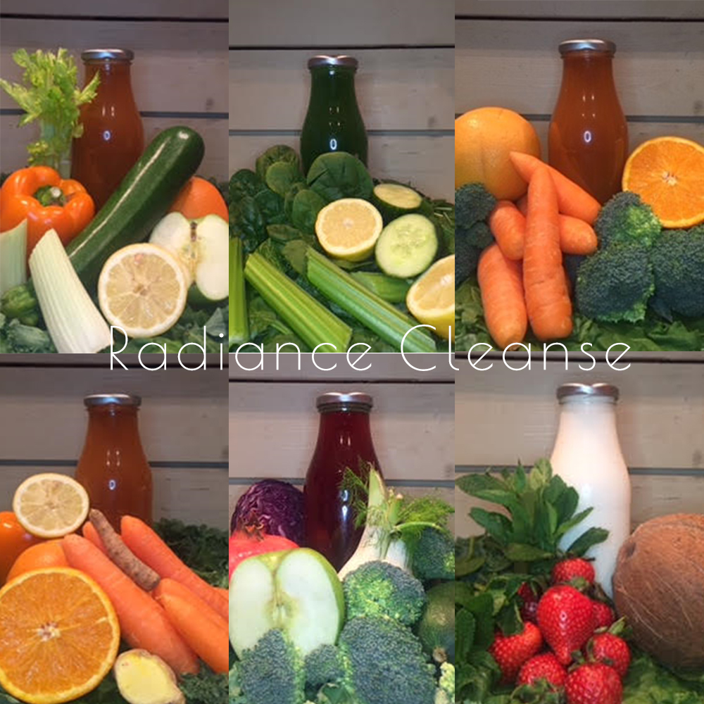 Radiance Cleanse Juices